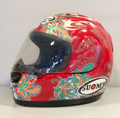 Suomy Spec 1R Flower Red Limited Edition