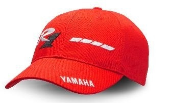 Yamaha cappellino YZF-R1 rosso 20th Anniversary