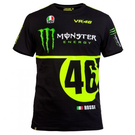 VR46 t-shirt replica Monza rally