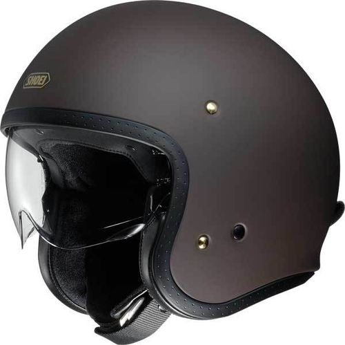 Shoei casco J-O matt brown
