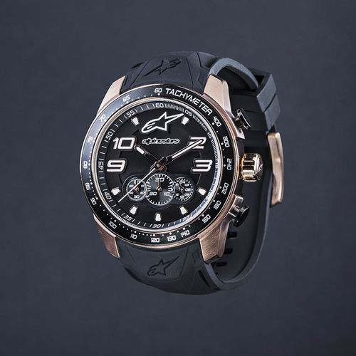 Alpinestars orologio Tech Watch chrono 2tones silicon