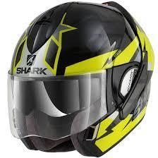 Shark casco Evoline S3 Black Yellow