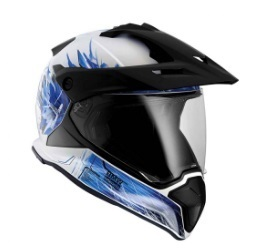 Bmw Motorrad Casco GS Carbon one world
