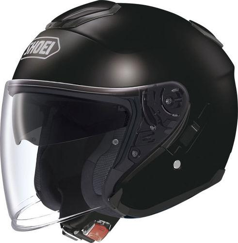 Shoei J-Cruise casco jet Matt Black