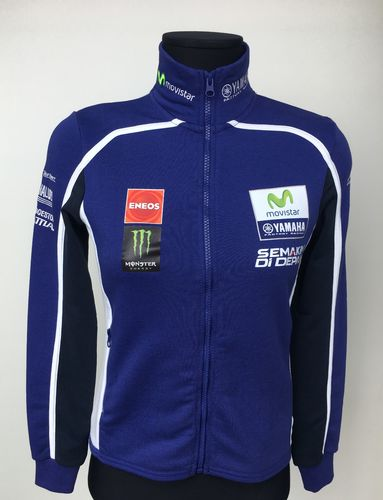 Yamaha Felpa Gp Donna replica Movistar