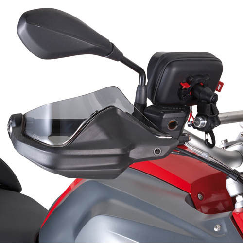 Givi estensione in plexiglass fumé per paramani originale BMW R 1200 GS 2013