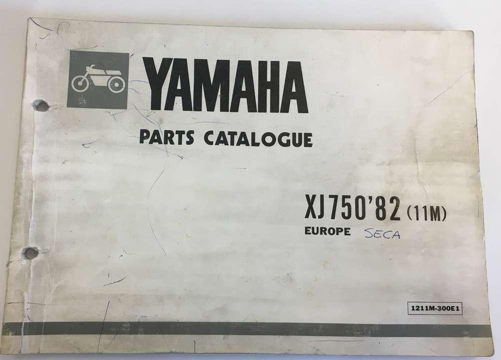 Yamaha parts catalogue XJ750 '82 (11M) Europe
