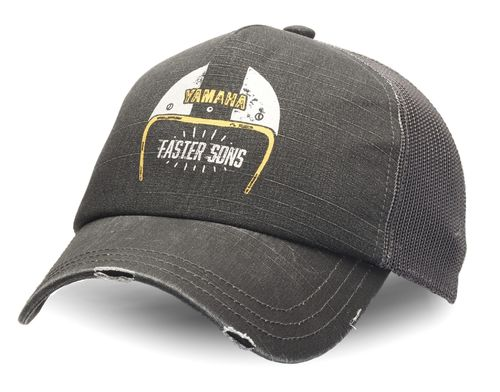 Yamaha cappellino con visiera adulto Faster Sons Trucker Heritage