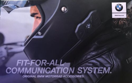BMW Motorrad Sistema di comunicazione Fit For All universale per caschi
