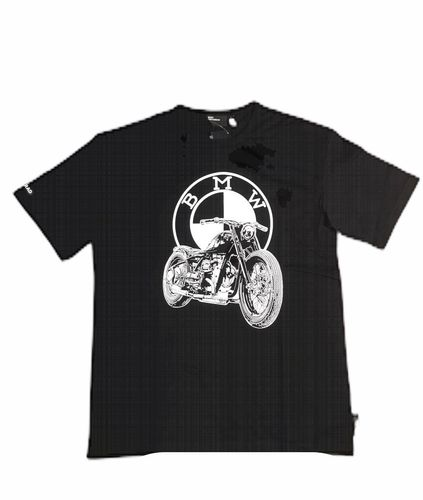 Bmw Motorrad t-shirt Heritage dealershirt nero