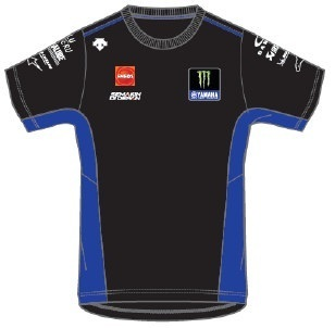 Yamaha t-shirt uomo Team MotoGp 2020 Descente