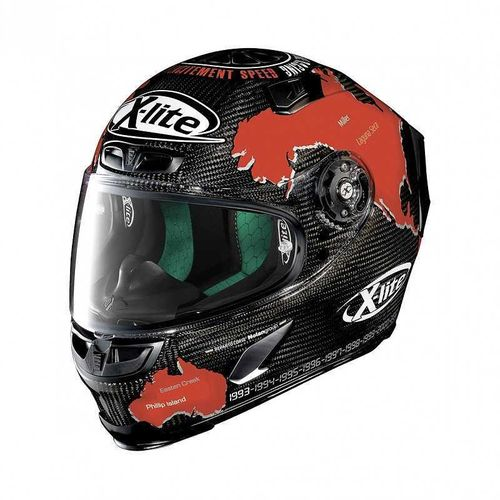 X-Lite casco X-803 Ultra Carbon Checa