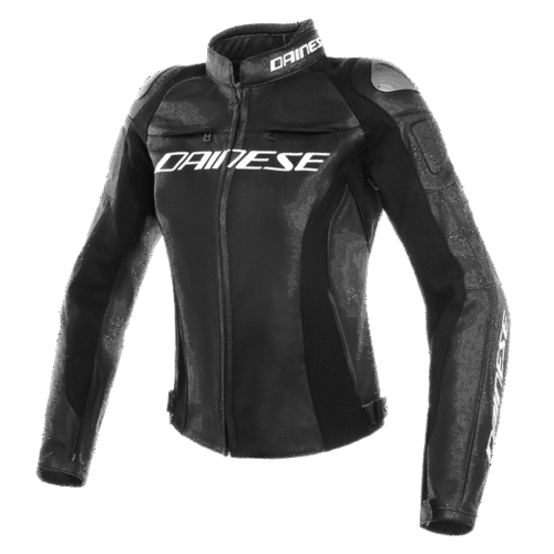 Dainese Giacca pelle Racing 3 lady nero