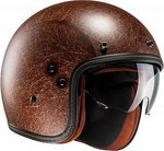 HJC casco jet FG 70S semi flat brown