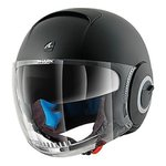 casco SHARK NANO MATT BLACK